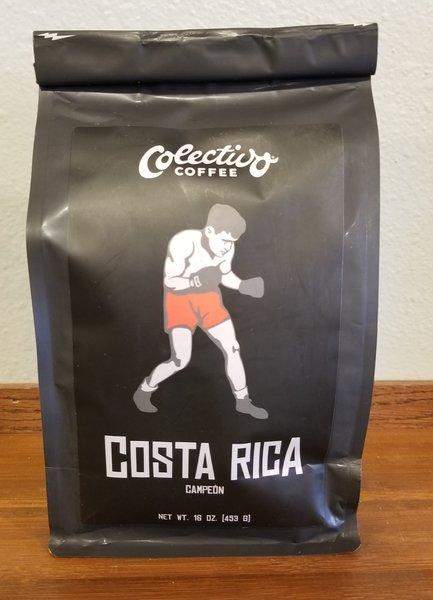 Colectivo Coffee Costa Rica Campeón