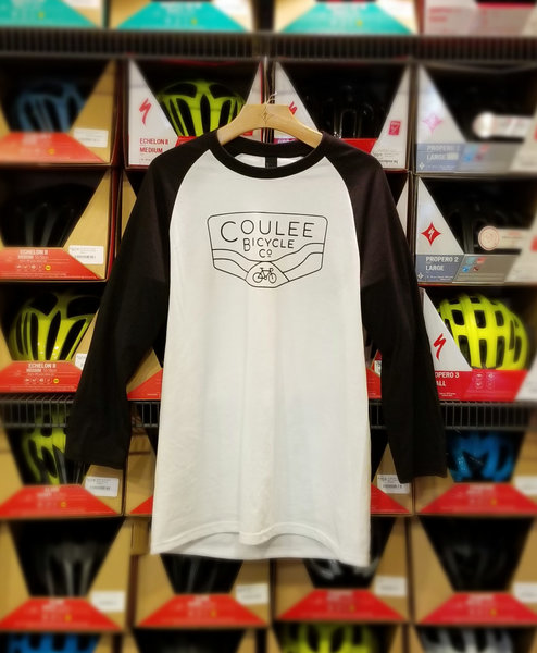 Coulee Bicycle Co CBC Baseball Tee