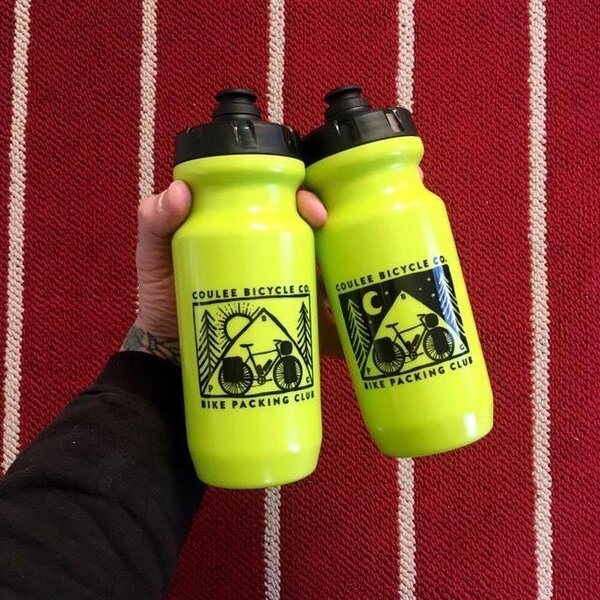 Coulee Bicycle Co CBC Bikepacking Adventure Bottle - 21oz LBM