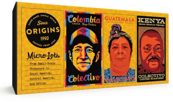 Colectivo Coffee Origins Coffee Sampler