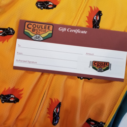 Coulee Bicycle Co Gift Card