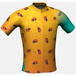 Coulee Bicycle Co Ban Cars Jersey