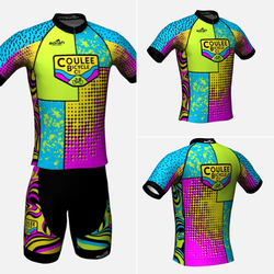 Coulee Bicycle Co CBC Shop Jersey - Neon
