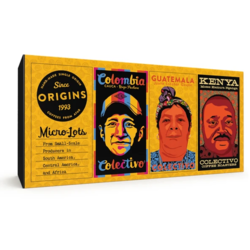 Colectivo Coffee Origins Coffee Sampler