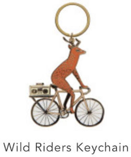 Danica Wild Riders Keychain
