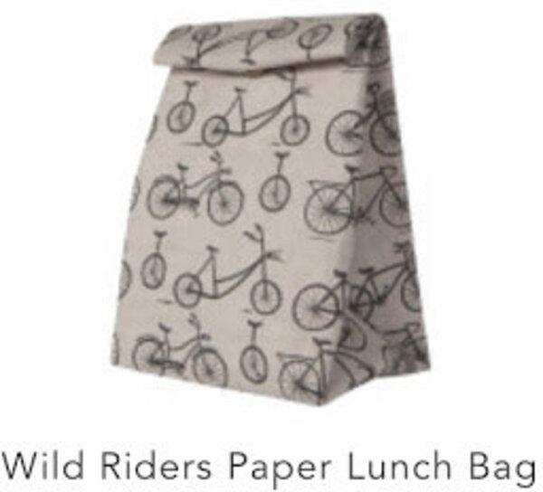 Danica Wild Riders Paper Lunch Bag
