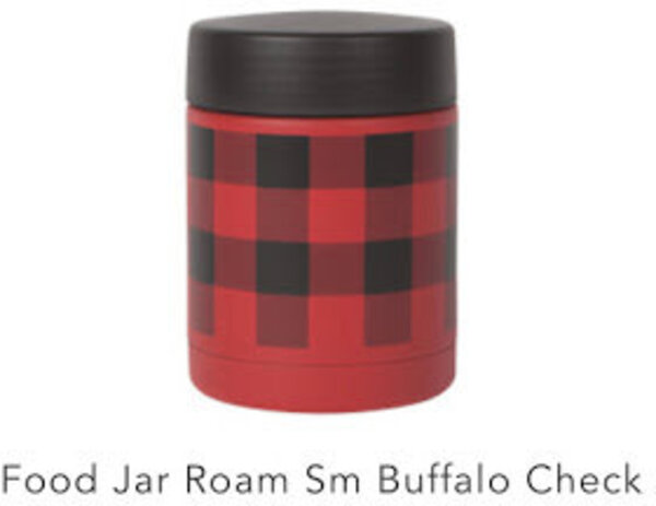 Danica Buffalo Check Small Roam Food Jar