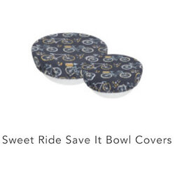 Danica Sweet Ride Save It Bowl Cover Set/2