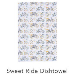 Danica Sweet Rider Dish Towel