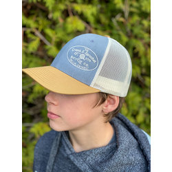 The Crank & Sprocket Bicycle Co. Heather / Birch Trucket Hat