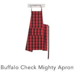 Danica Mighty Buffalo Check Chef Apron