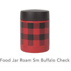 Danica Buffalo Check Small Roam Food Jar