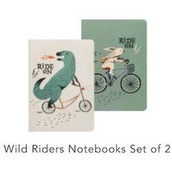 Danica Wild Riders Notebook Set