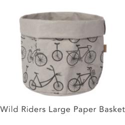 Danica Wild Riders Large Paper Basket