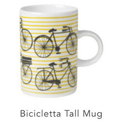 Danica Bicicletta Tall Mug