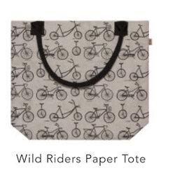 Danica Wild Riders Paper Tote Bag