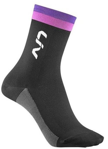 Liv Liv Race Day Socks Black/Purple/Hot Pink XS/S