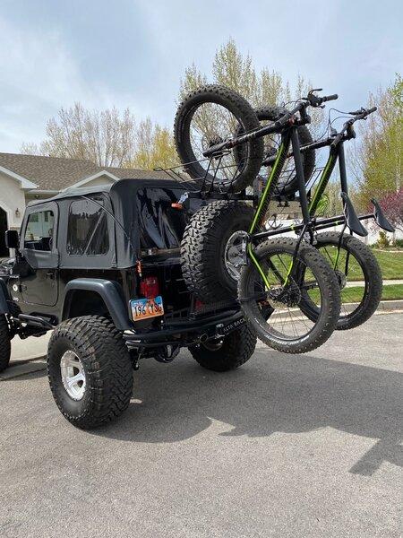 Alta Racks Fat Bike Baskets