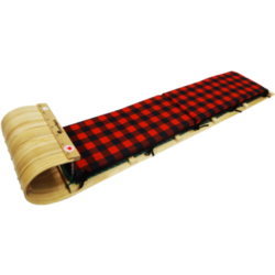 Streamridge Frontier 6ft Toboggan with plaid pad