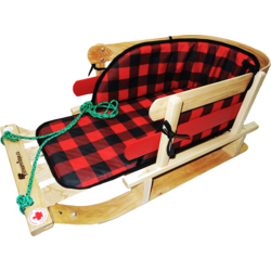 Streamridge Frontier Sleigh with plaid pad