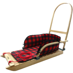 Streamridge Grizzly Heritage Sled with plaid pad