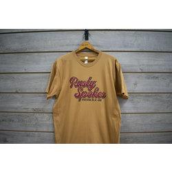 Rusty Spokes RS Bike Co Logo Tee Mustard