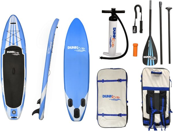 Dunnrite SUP Blue W/White Inflatable SUP