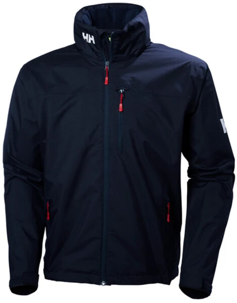 Helly Hansen Crew Hooded Jacket Color: Navy