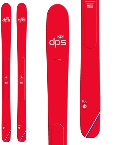 DPS Skis Pagoda Piste C2 Color: Red