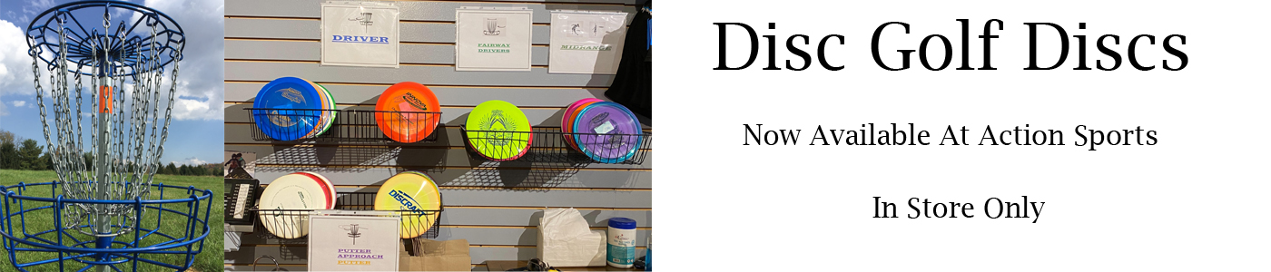 Disc Golf Discs Available In Store At Action Sports