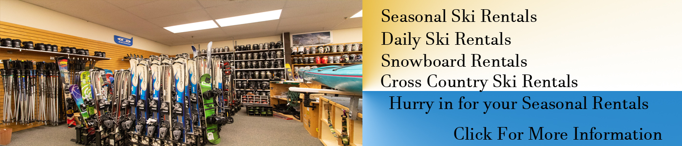 Seasonal & Daily Rentals