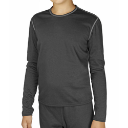Hot Chillys Youth Pepper Bi-Ply Crewneck
