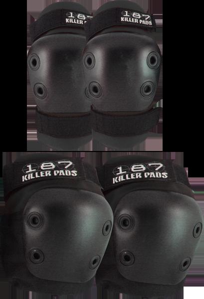 187 Killer Pads 187 Knee & Elbow Combo Pack