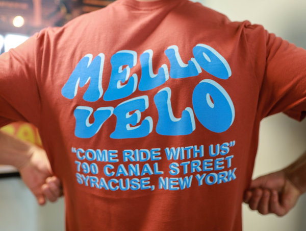 "Mello Velo ""Ride w/ us"" Shirt"
