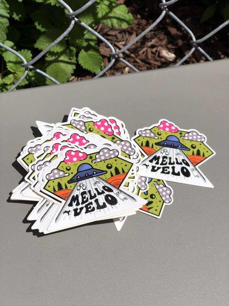 Mello Velo UFO Mello Velo Sticker