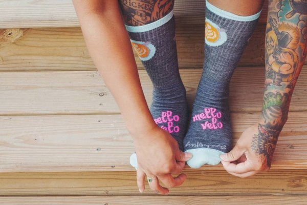 Mello Velo SockGuy Cafe Wool Sock