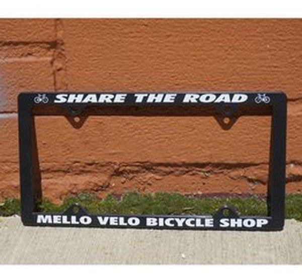 Mello Velo Share the Road License Plate Frame