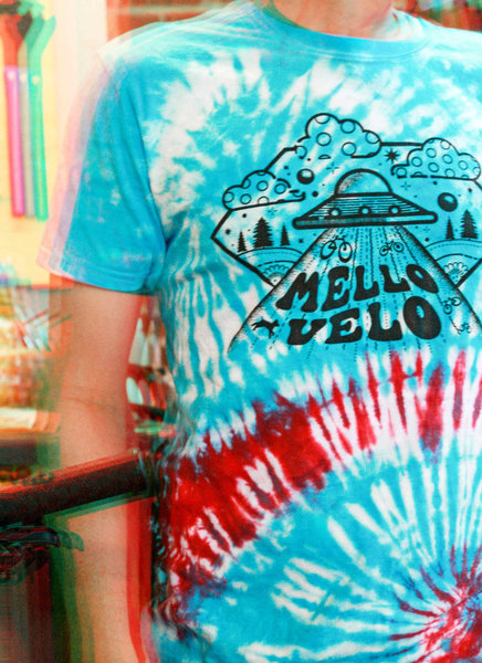 Mello Velo UFO Tie Dye Tee