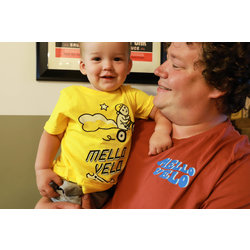 Mello Velo Squirrel & Wrench Little Kid Shirt