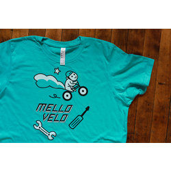 Mello Velo Squirrel & Wrench Little Shirt