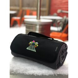 Mello Velo Embroidered Roll-up Blanket
