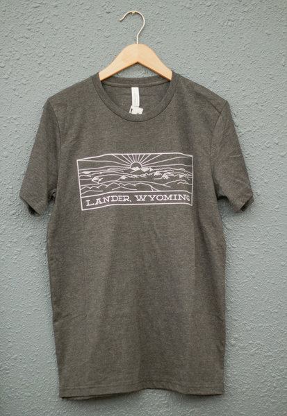 Gannett Peak Sports Lander Wyoming Tee