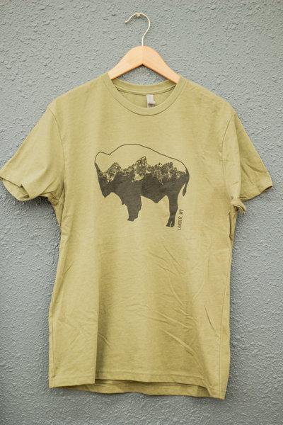 Gannett Peak Sports McGowan Buffalo Tee