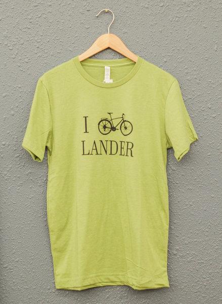 Gannett Peak Sports I Bike Lander Tee (City)
