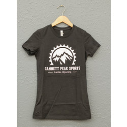 Gannett Peak Sports GPS Logo Tee (Womens)