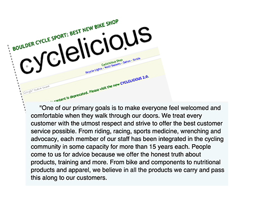 Best new Bike shop Cyclicious