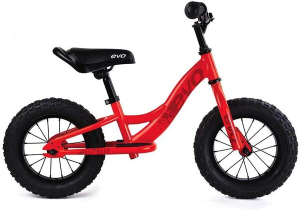Evo Beep Beep Push Bike Orange Peel/Red