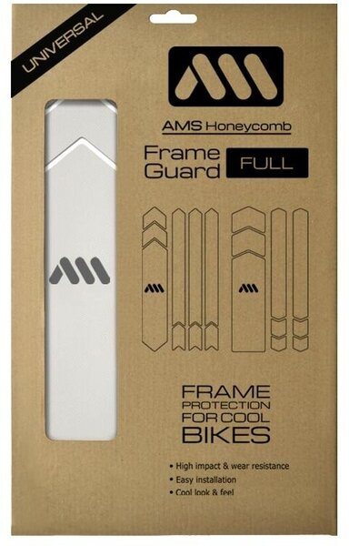 AMS HONEYCOMB FRAME GUARD FULL (CLEAR)