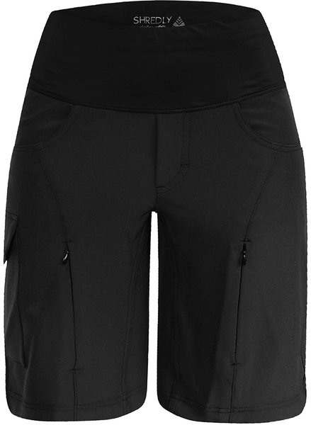 Shredly MTB CURVY SHORT: the NOIR