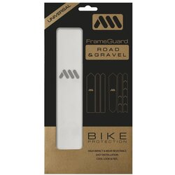 AMS GRAVEL/ROAD FRAME GUARD. (CLEAR)